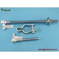 """Best Zinc finish steel Chain Link Fence Gate Frame Hinge with 5/8"""" Pin Hole wholesale"""