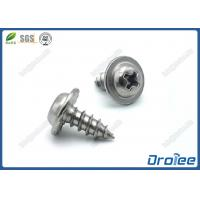 Best Stainless 304/316/410 Philips Serrated Round Washer Head Sheet Metal Screws wholesale