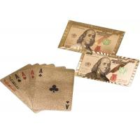 Best Durable 24k Sliver Foil Plated Royal Poker Playing Cards For Entertainment wholesale