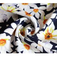 China Lean Textile printed chiffon fabric for dresses on sale