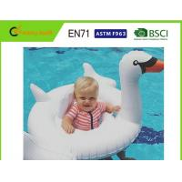 """Customised Size Swan Pool Float 70""""x32"""" With Comfortable Flocked Sleeping Surface"""