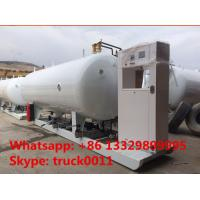 Best 32m3 skid mobile lpg gas station, CLW brand best price 16tons skid lpg gas filling plant for automobiles for sale wholesale