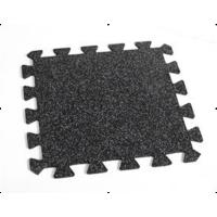 China Non-Toxic Rubber Floor Tile , Interlock Rubber Tiles on sale