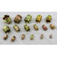 Best Carbon Steel Hydraulic Pipe Fittings With BSP Thread And BSPT Thread Nipple wholesale