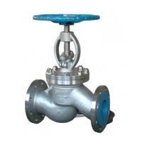 China 4 Inch Flange Globe Valve  Stainless Steel Wcb Manual Corrosion Resistance on sale
