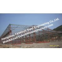 Fabricated Steel Industrial Steel Buildings with Galvanized steel Surface