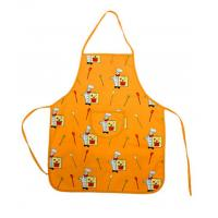 China 100% cotton canvas kids apron printing children canvas apron on sale