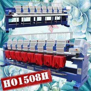 China Like famous tajime embroidery machine HO1508H cap t-shirt flat 3d logo 1200 spm 8 heads embroidery machine for sale on sale