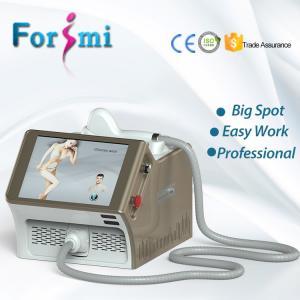 Big spot sizes portable 808nm diode laser permanent depilacion laser hair removal machine