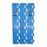 China Coin Lockers with Maximum Surface Resistance and Static Powder Painting System Finish on sale
