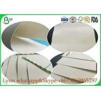 China Uncoated Glossy Art Paper , White Absorbent Paper For Making Food And Freezing on sale