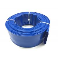 Best Blue PVC Layflat Hose Aging Resistant Agricultural Irrigation PVC Water Pump Pipe For Water Discharge wholesale