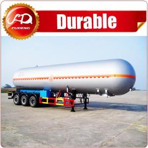 Best Shandong Fudeng 52000 liters 3 axles lpg tank trailer price/ lpg gas tanker semi trailer for sale wholesale