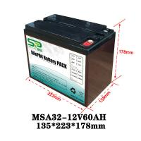 Best Rechargeable Battery Pack 12v Output , NCM/LiFePO4 Car Battery Backup wholesale