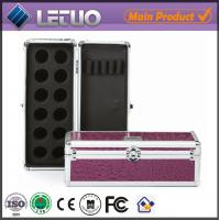 Best LT-MC320 Purple Croc Nail Pro nail polish case wholesale professional makeup case wholesale