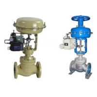 Buy cheap Single Seated Flanged Pneumatic Control Valve / Pneumatic Operated Diaphragm Valve from wholesalers