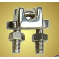 Best Drop Forged Metal Steel Wire Rope Clamp for Lifting Galvanized Surface wholesale
