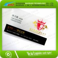 Best Transparent VIP Card/Printed PVC Card with White Signature Panel wholesale