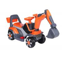 Best Professional Childrens Electric Ride On Cars / Sit On Excavator Toy EN71 Approved wholesale