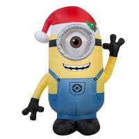 Buy cheap Factory Customized Christmas Holiday Yard Decoration Inflatable Minion Display from wholesalers