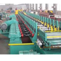 Best 2019 new design automatic gear box driving 18kw Galvanized steel metal shutter door frame roll forming machine for sale wholesale