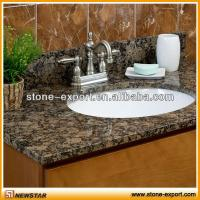 Best vanity tops granite countertop ,granite bathroom vanity tops,shanxi black countertops,bowed vanity tops,slab top, wholesale