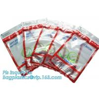 Best Coin Bank Safety Deposit Security Bag / Evident Proof Plastic Coin Security Sealing Bag wholesale