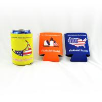 Best Custom wholesale collapsible foldable neoprene beer cooler can holder size:10cmc*13cm  Material is neoprene wholesale