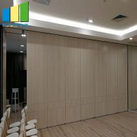 Best Hotel Acoustic Movable Sound Proof Partition Panel System With Door wholesale