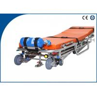 Best Stainless Steel Ambulance Stretcher Auto Loading for Outdoor Rescue wholesale