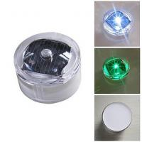 China IP68 Waterproof Solar Led Flash Light For Road Warning or Decoration on sale