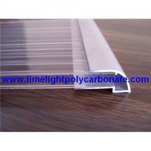 Best Aluminium U profile, aluminium edge, pc sheet accessories, polycarbonate sheet profiles wholesale