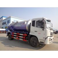 China 10 Tons Septic Sewer Vacuum Truck 10000L Dongfeng Medium Sewer Cleaning Tanker on sale