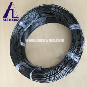 Best Superelastic nitinol wire for sale, nickel titanium alloy wire black surface wholesale