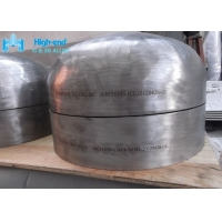 Chemical Industry ASTM B363 Titanium Pipe Fitting AS9100 Forged Vessel