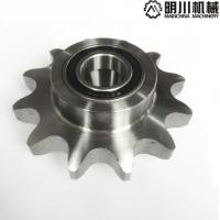 Best C Type Roller Chain Idler Sprocket 45C Material Customized With Heat Treatment wholesale