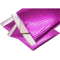 China Self Adhesive 0.35mm Thickness 4x6 Metallic Bubble Mailer on sale