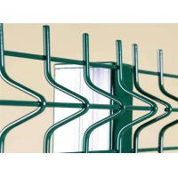 Best 4.0 MM Wire PVC Coated Bending Welded Wire Fence Security For Industrial And Commercial Buildings wholesale