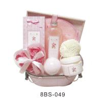 Best Pure Herbal Baby Bath Gift Sets Pvc Box With Flower Soap #8BS-049 wholesale