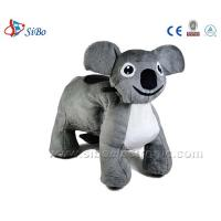 Best Amusement Park Equipment Electric Coin Operated Plush Kiddie Ride On Furry Walking Animal wholesale