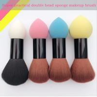 Best Double Head Makeup Foundation Brush Powder Puff  Synthetic Hair and Sponge Hair Material wholesale