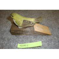 Buy cheap 2012 latest wood carved green bird door stop from wholesalers