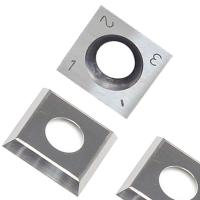 Best RTing 14mm Square Carbide Inserts Cutter for Wood Working & Turning,(14mm lengthX14mm widthX2.0 thick),Pack of 10 wholesale