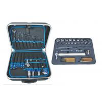 Best 72 pcs combination industrial hand tools set with suitcase / draw - bar box wholesale