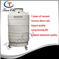 China 210mm Caliber ln2 container 60L cell cryogenic storage tank factory on sale