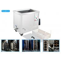 Best Large Capacity Parts Ultrasonic Cleaner , 20 - 95C Heater Commercial Ultrasonic Cleaner wholesale