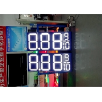 Best CE FCC Time Sign LED Advertising Display Screen 4000cd/M2 wholesale