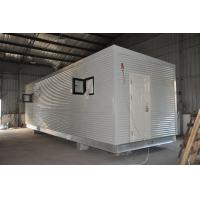 China Steel Frame Prefab Modular Homes , Mobile Guard House For People Living on sale