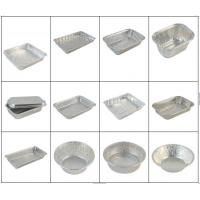 China Fast Food Aluminium Catering Trays / Aluminum Foil Tray Half Hard Temper on sale