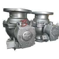 Best PTFE Soft Seated Ball Valve Floating Ball Valve 150LB Worm Gear Q41F Full Bore wholesale